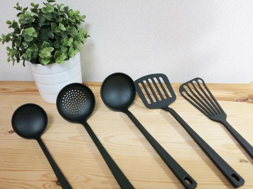 無印良品のナイロン樹脂の調理小道具
