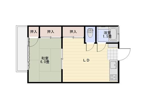 2013年11月現在居住の間取り図