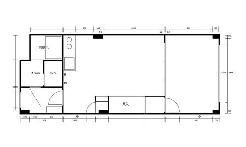 新居の間取り図