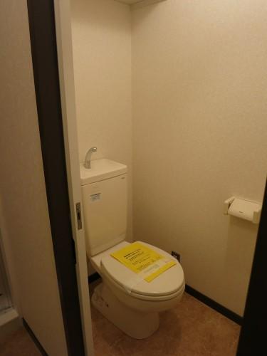 新居のリフォーム後のトイレ