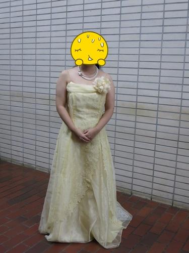 発表会に来たドレス