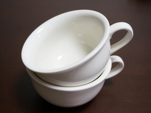 300円均一のスープカップ
