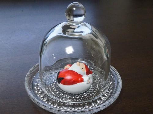 セリアのミニガラスドーム