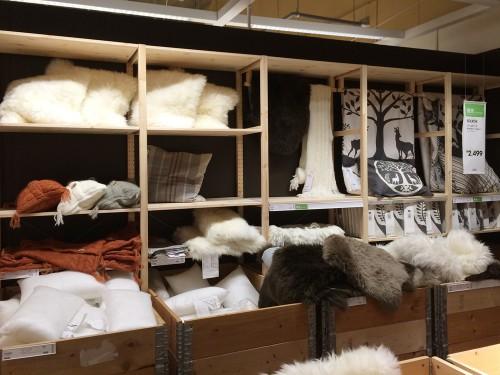 IKEAの羊毛シリーズ