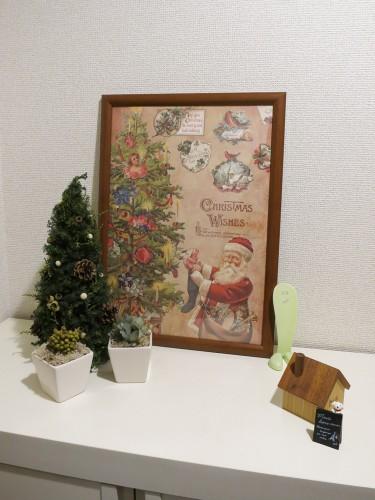 2014年玄関クリスマス仕様