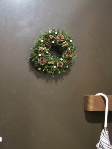 クリスマスの玄関(2014年)