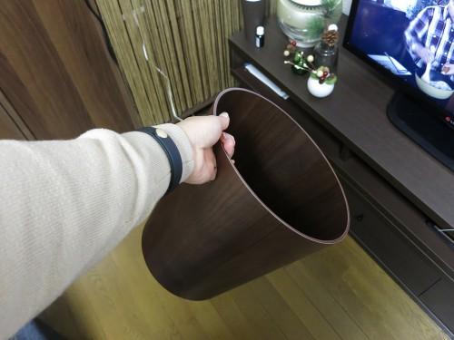 サイトーウッド】ごみ箱 上開き手穴付 M WN903XX