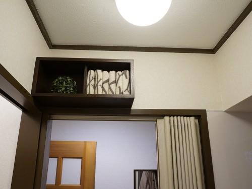 無印良品の壁に付けられる家具 箱 44cm