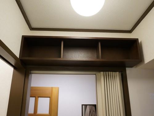 無印良品の壁に付けられる家具 箱 88cm