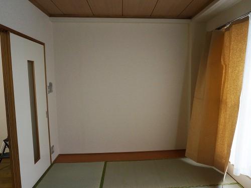 引っ越し前の和室